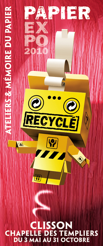 Papier recycle b