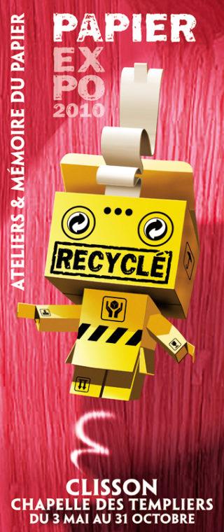 Papier recycle b