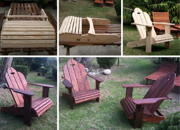 Adirondak fauteuils